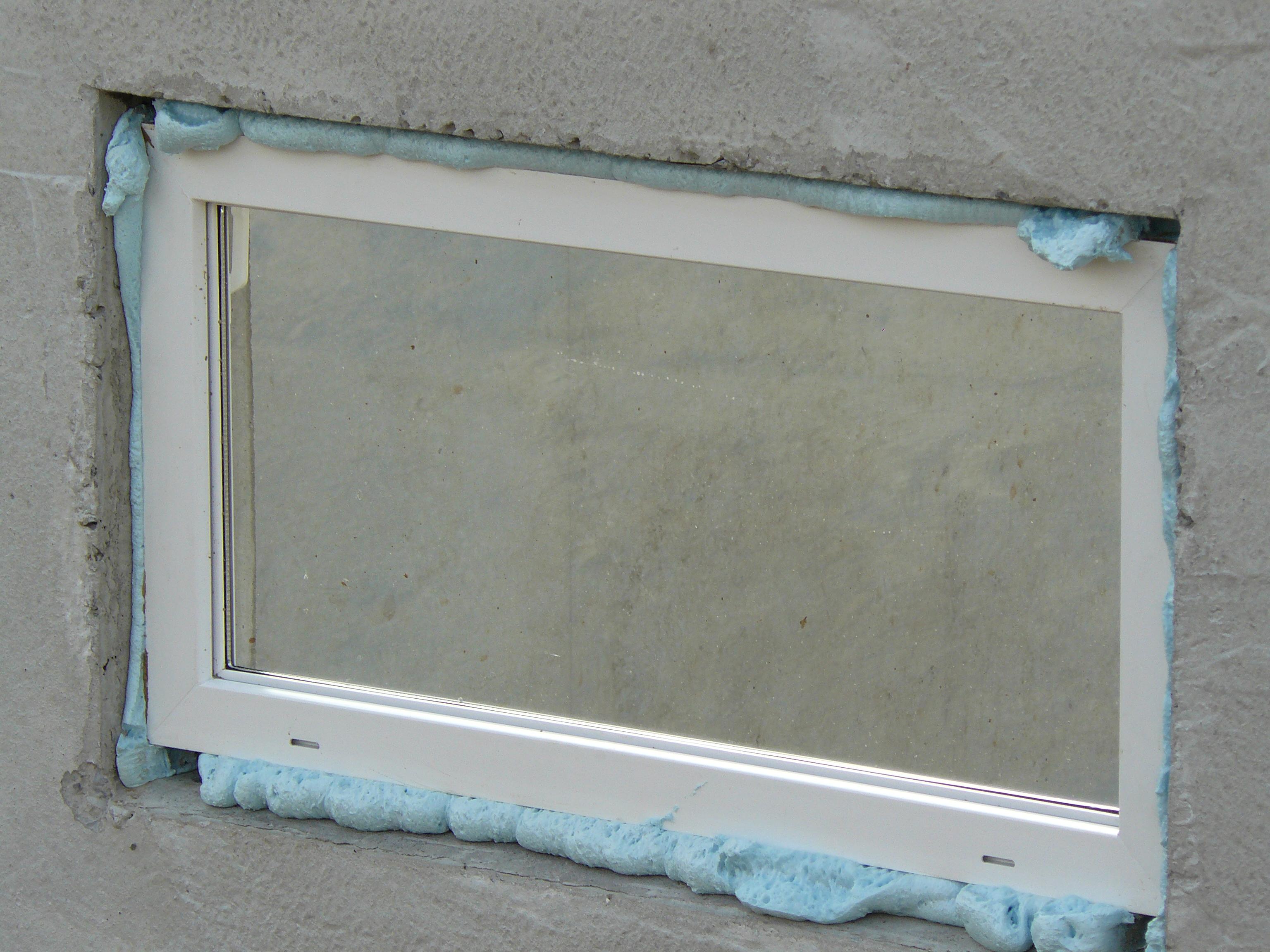 Kellerfenster von außen
