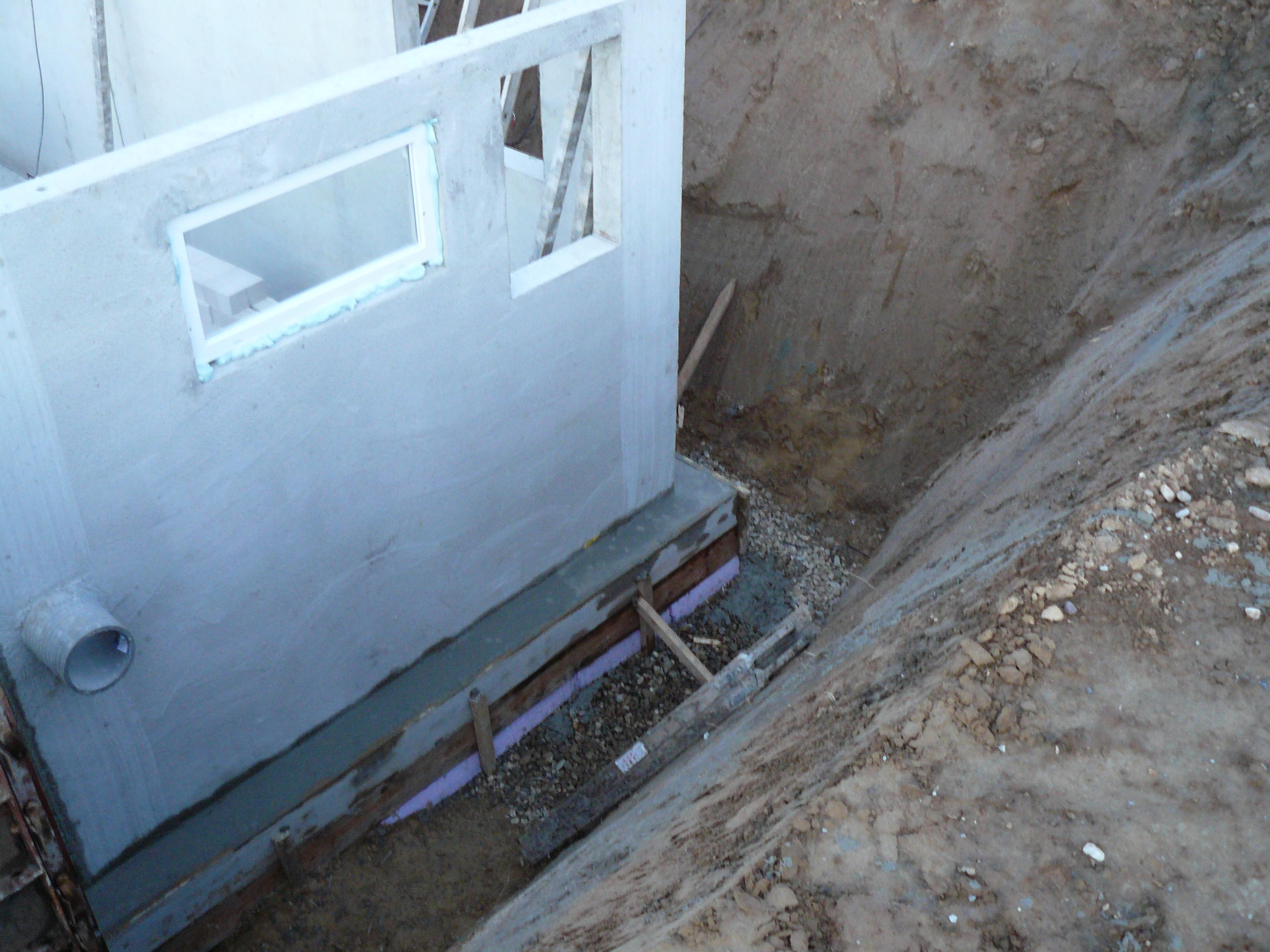 Außenwand und Erdbebenzonensicherung