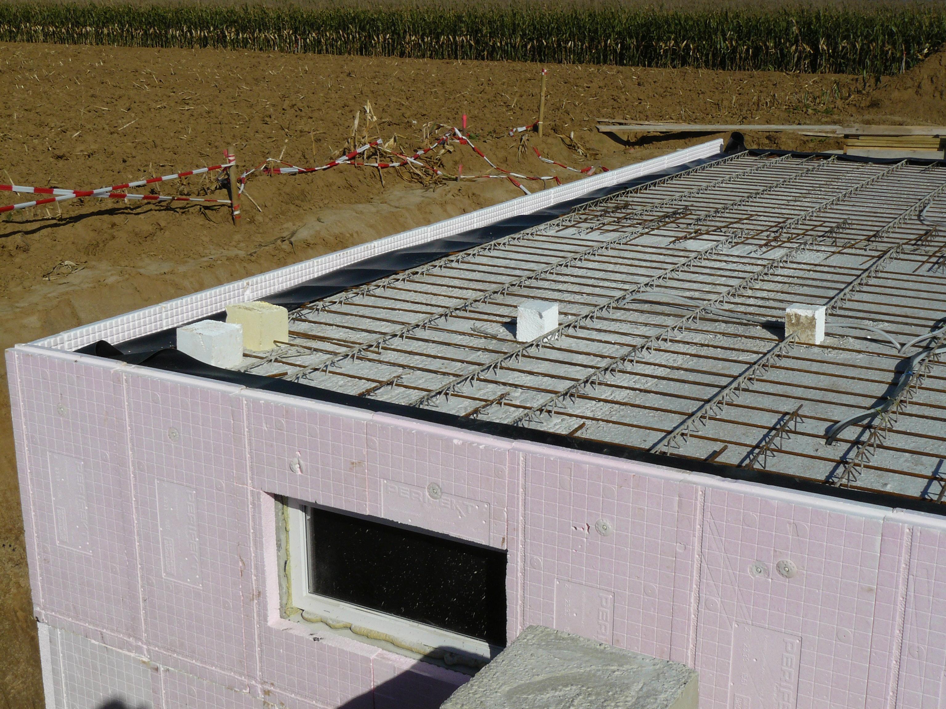 bautagebuch fronhoven » kelleraufbau tag 5: außenwanddämmung