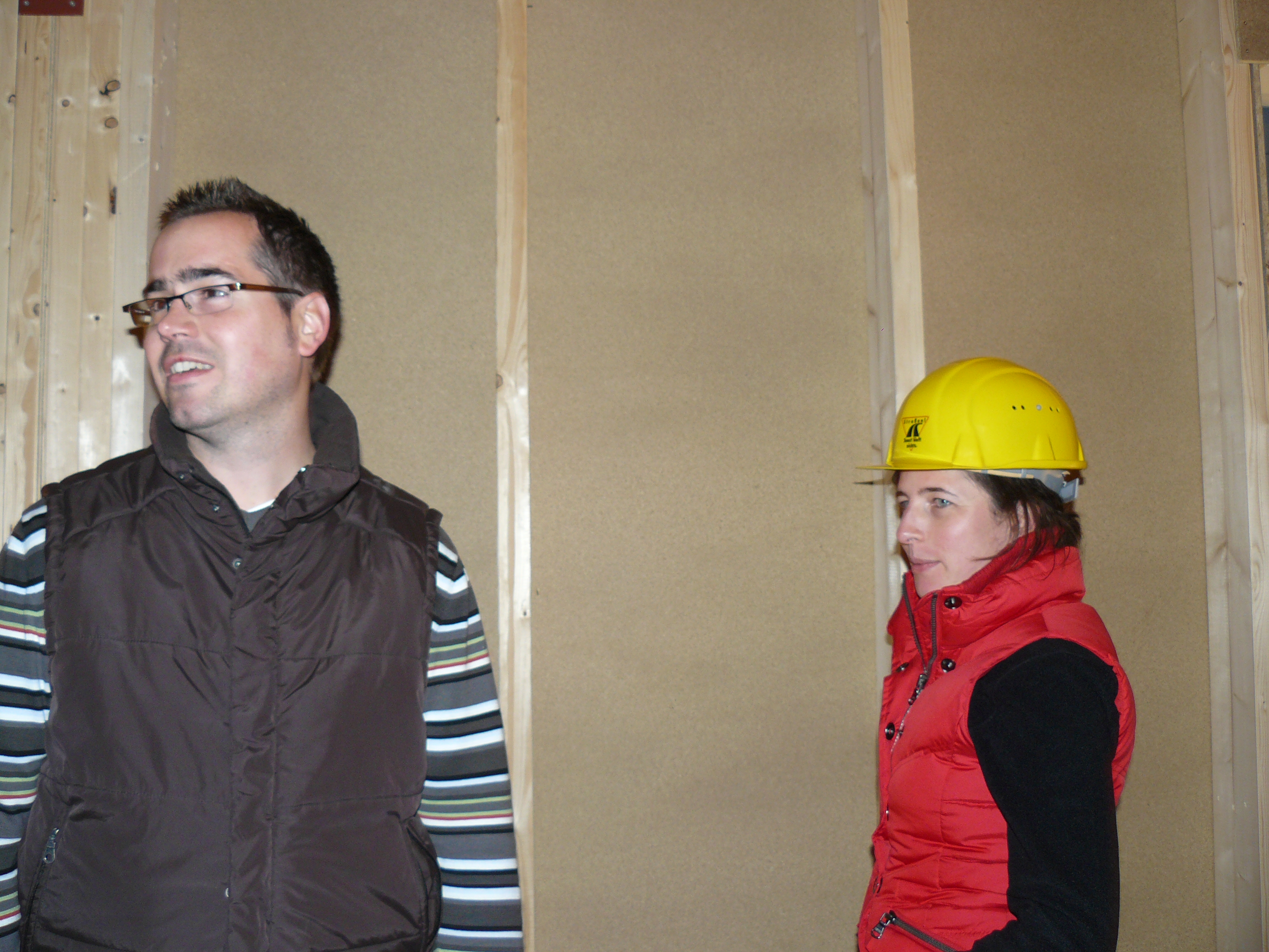 Marcel und Bauaufsicht Jenny