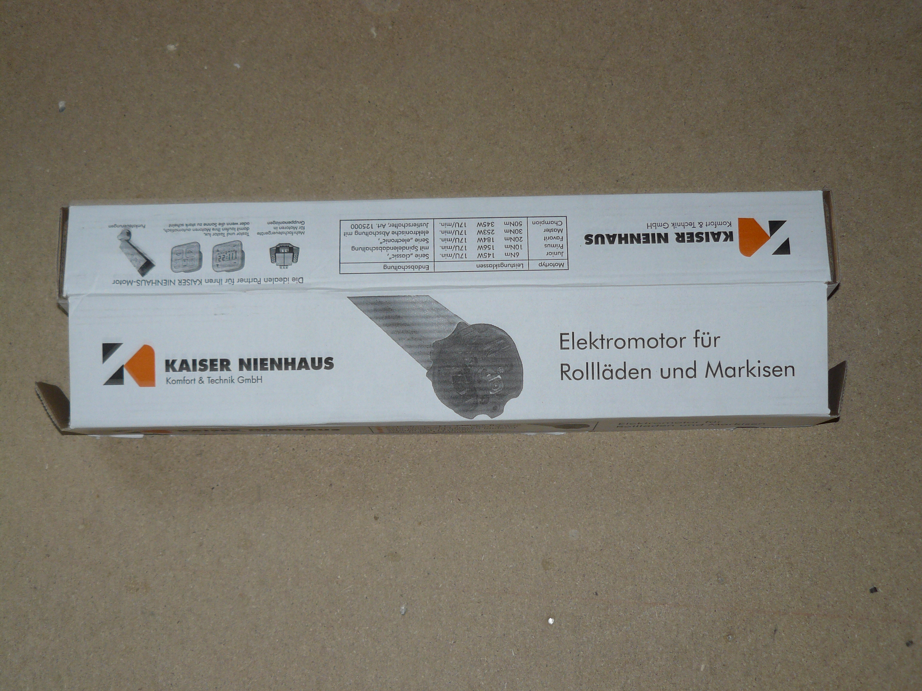 Kaiser Nienhaus Karton