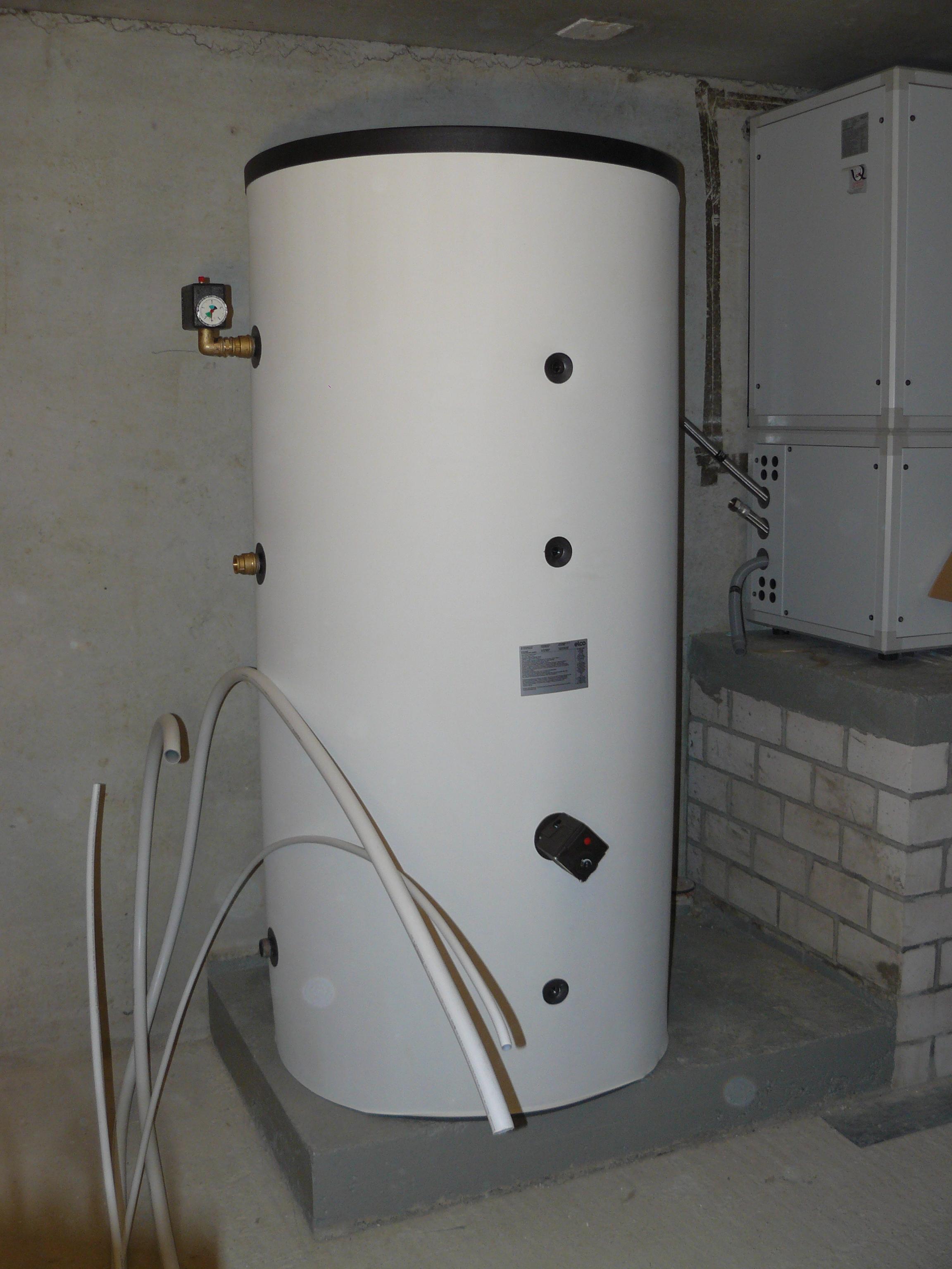 Warmwasserspeicher