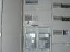 Zählerschrank mit eingebauten Zählern
