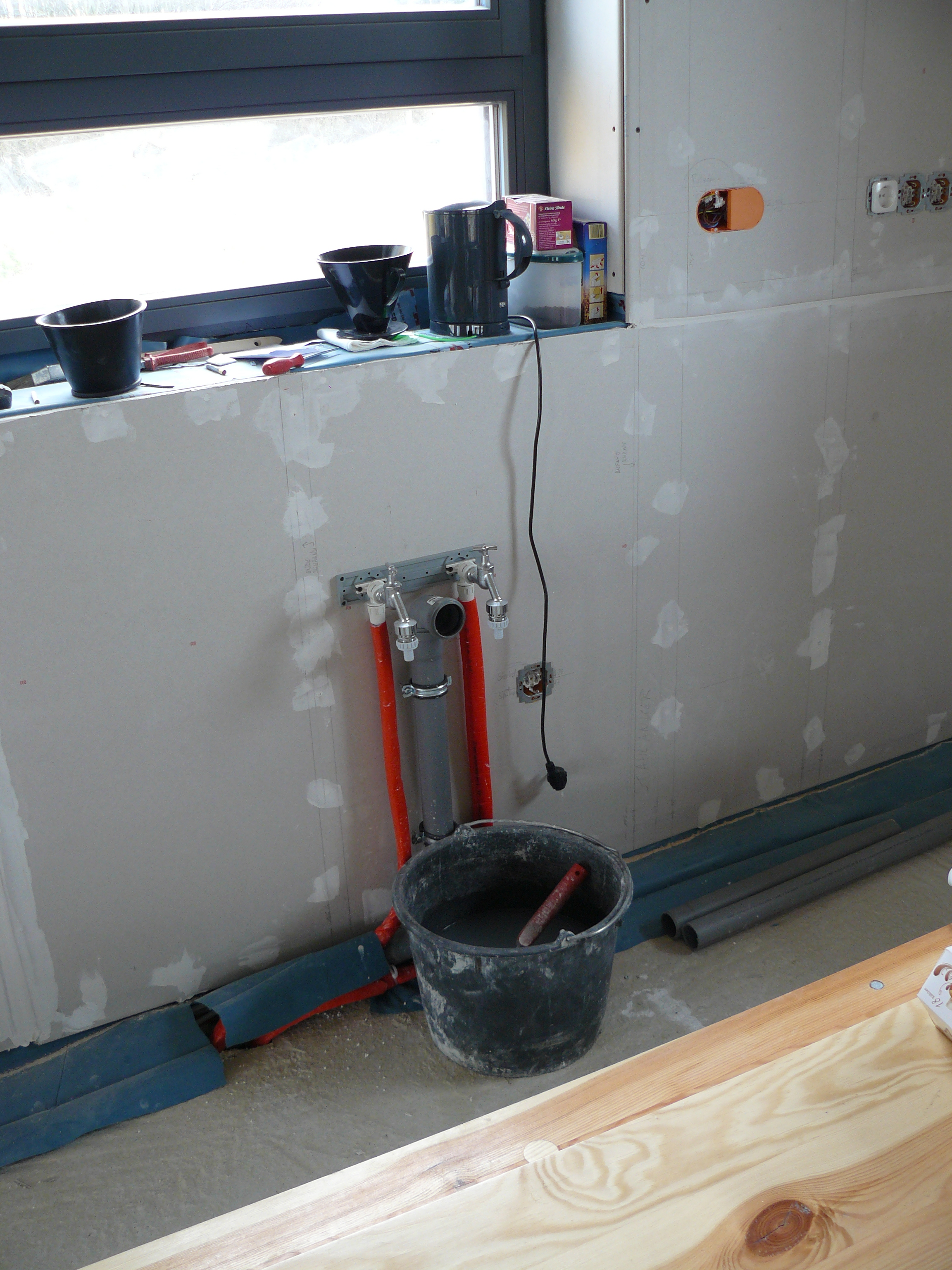 Doppelzapfstelle in der Küche