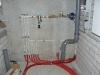 Wasserverteilung im Technikraum