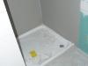 Duschwanne Gäste-WC