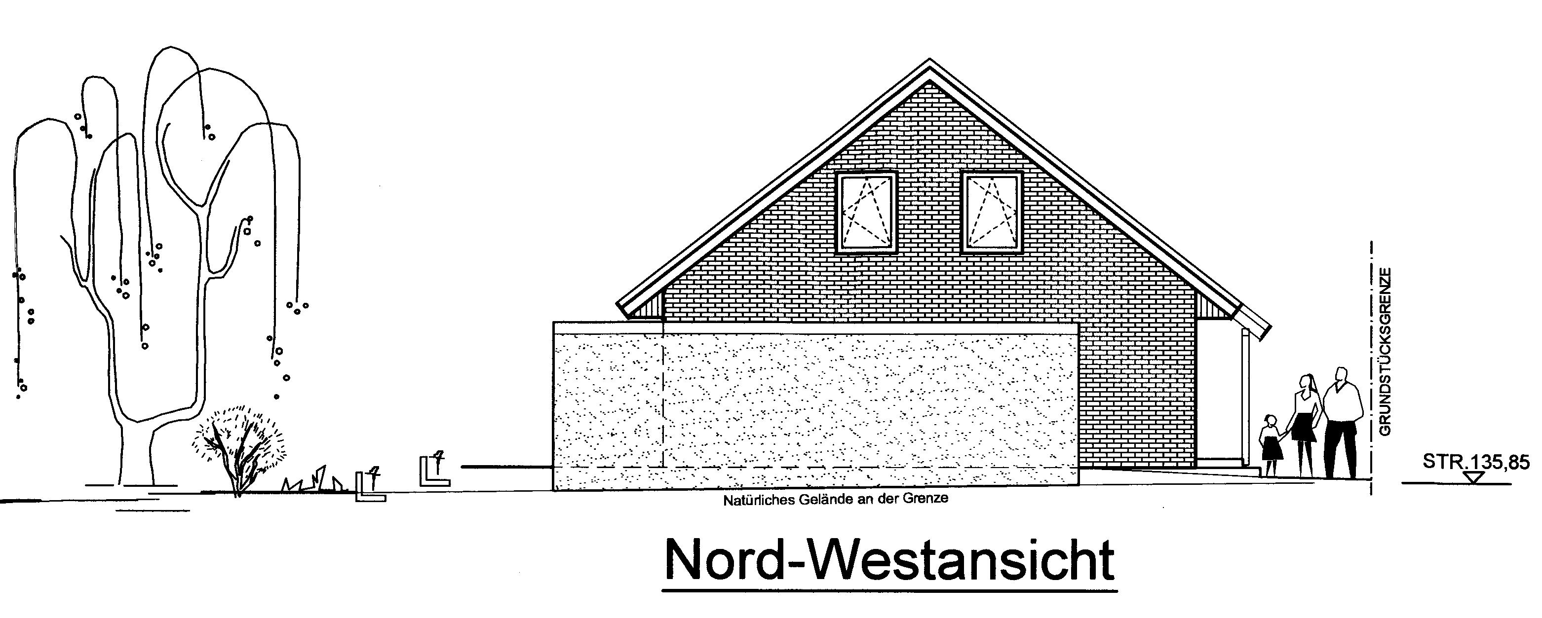 Nord-West-Ansicht