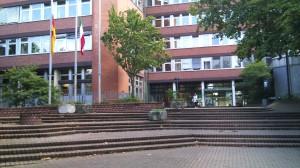 Eingang Stadtverwaltung Eschweiler