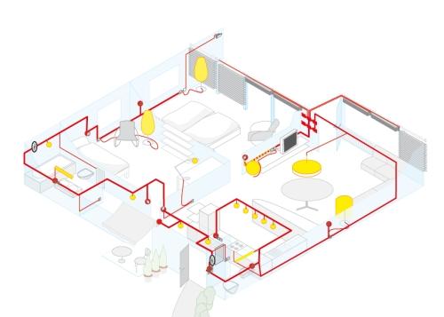 bautagebuch fronhoven geb udesystemtechnik bus systeme haussteuerung 2. Black Bedroom Furniture Sets. Home Design Ideas