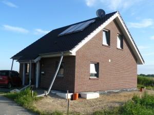 Unser Haus am 08.07.2011