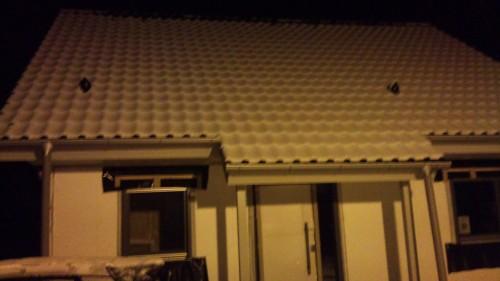 Unser Haus im Schnee 1