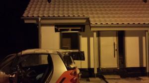 Unser Haus im Schnee 2