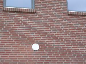 Mauerkasten fertig eingebaut (außen)