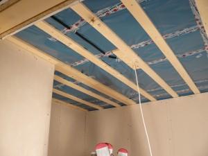 Decke Abstellraum (ohne Rigips)