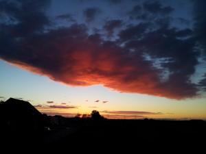 Sonnenuntergang 2012-04-29 um 20.59 Uhr