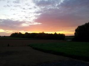 Sonnenaufgang 2012-05-11 05.51 Uhr